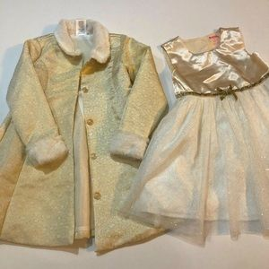 Nannette Baby Dress and Jacket Set 3T